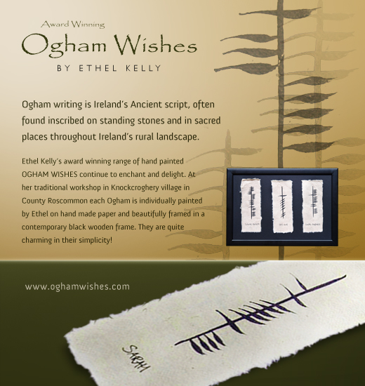 Ogham Personalised Wedding Gift : ... in real wood we love to customise all our frames can be personalized