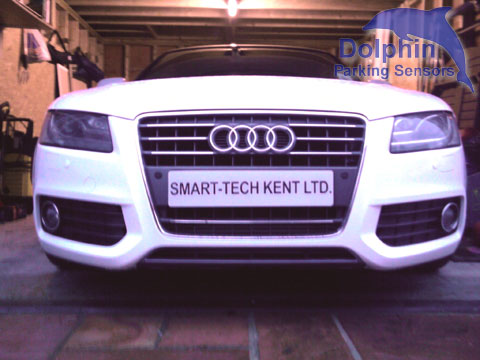 Audi A5 with Parking Sensors Fitted