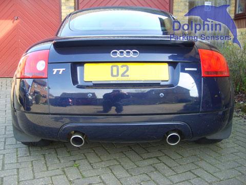 Parking Sensors on Audi TT Navy Blue 02