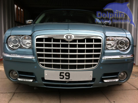 Parking Sensors fitted to Bentley