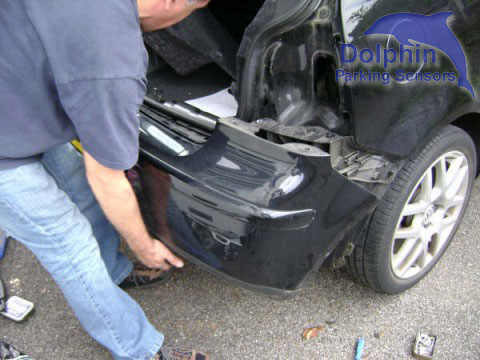 Now remove bumper