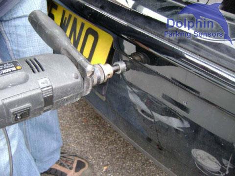 Drilling VW Bumper