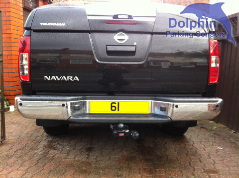 Parking Sensors Fitted to Nissan Navara Truckman