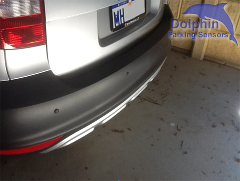 Parking Sensors fitted to Skoda Yeti