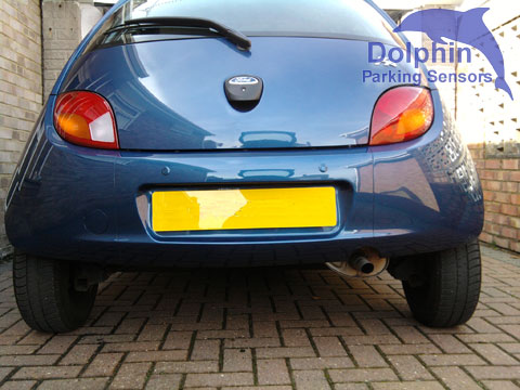Parking Sensors fitted to Ford Ka