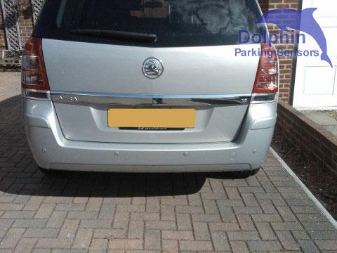 George Curtis Parking Sensor Kit Installar - Vauxhall Zafira