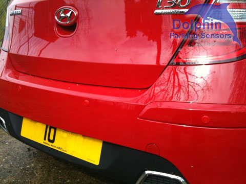 Parking Sensors fitted to Renault Trafic Van