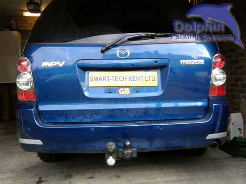 Mazda MPV Blue Parking Sensors