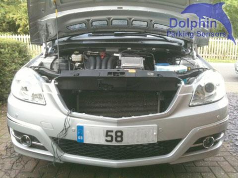 Installing Front Parkinf Sensors