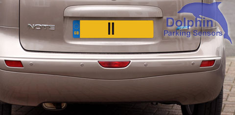 Nissan Note Reverse Parking Sensors
