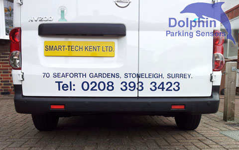 Nissan NV200 Van Parking Sensors Fitted