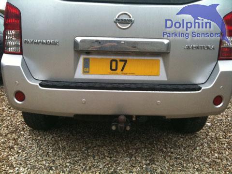 Nissan Pathfinder Aventura Parking Sensors