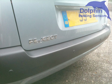 Matt Black Parking Sensors in the bumper