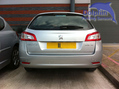 Peugeot 508 parking sensors for reversing safely