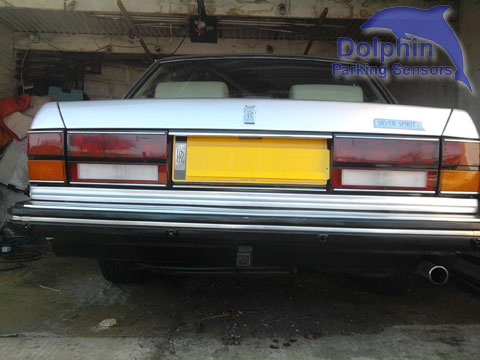 Parking Sensors fitted to Rolls Royce Silver Spirit