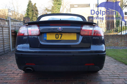 Saab 07 Aero Convertible Parking Sensors Fitted