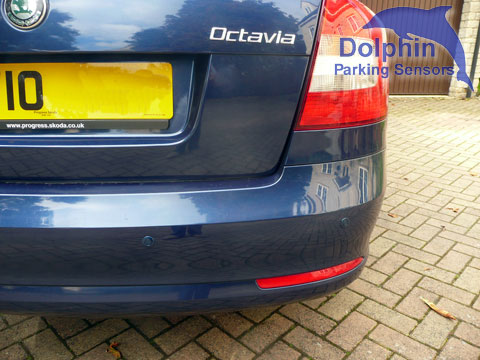 Skoda Octavia Fitted with Parking Sensors