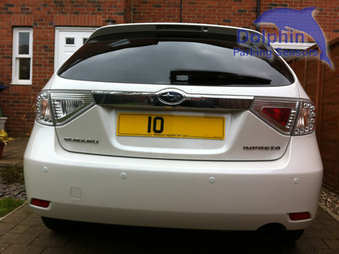 Parking Sensors Fitted to Subaru Impreza