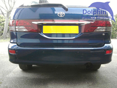 Parking Sensors fitted to Toyota Previa