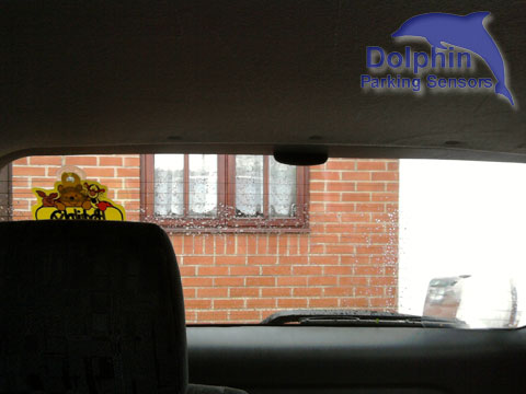 Roof mounted display