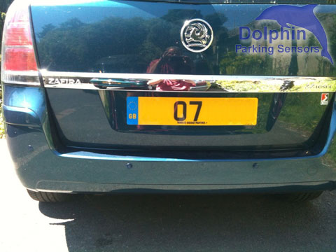 Parking Sensors fitted to Vauxhall Zafira