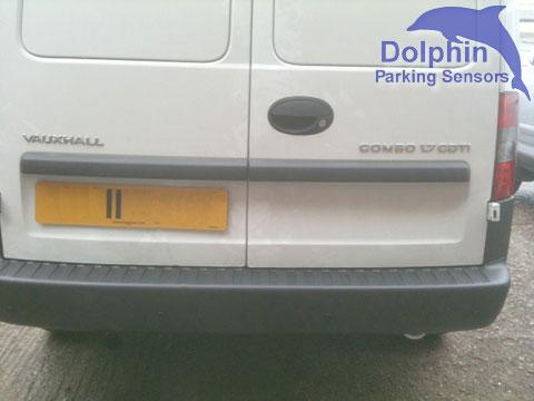 Vauxhall combo van parking sensors