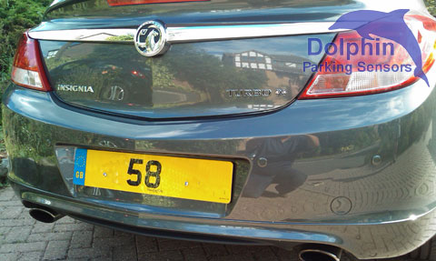 58 Registration plate Grey