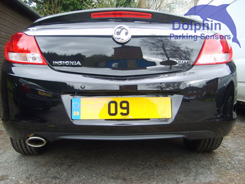 Parking Sensors on Vauxhall Insignia CDTI