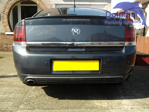 Parking Sensors fitted to Vauxhall Vectra Iron Grey