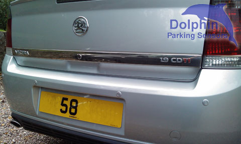 vauxhall vectra 58 registration plate
