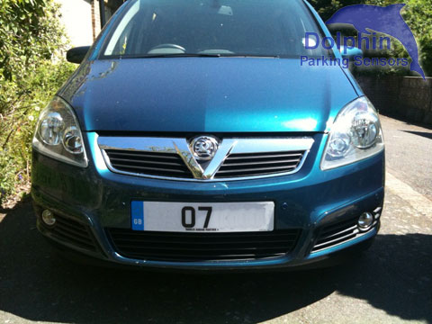 Zafira Front Parking Sensors