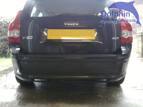 Parking Sensors fitted to Volvo V50 Estate