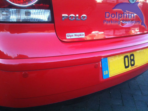 Red Parking Sensors